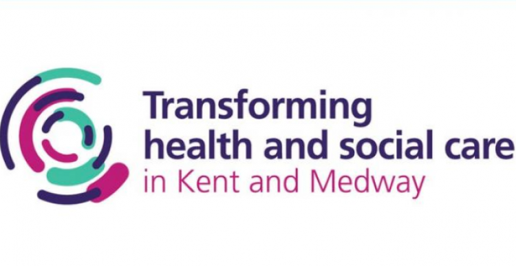 Transforming health and social care in Kent and Medway logo