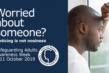 Facebook cover for Safeguarding Adults Awareness Week.
