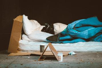 what's it like to be homeless in Medway?